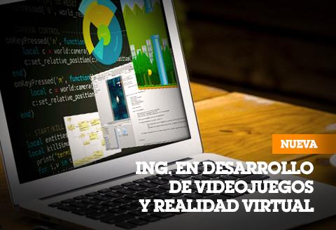 Ingenieria En Desarrollo De Videojuegos Y Realidad Virtual